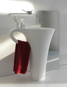 Art basin - coffee cup wash basin