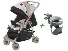 Carrinho de Bebê Passeio Galzerano Maranello - para Crianças até 15kg + Suporte de Copo com as melhores condições você encontra no Magazine Sualojaverde. Confira!