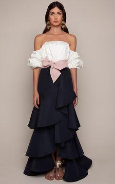 Johanna Ortiz Resort 2016 - Preorder now on Moda Operandi White Shop, Shoulder Sleeve, Designer, Classic Style, Ruffles, Couture, Feminine Fashion, Weddings, Dekoration