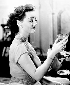 "Bette Davis in ""Old Acquaintance""."