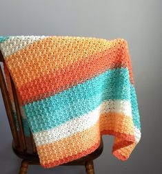 Every Day Crochet Baby Blanket - A free pattern by Crodyen Crochet