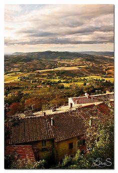 Montepulciano, Siena Tuscany