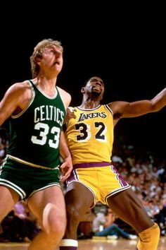 Larry Bird - Magic Johnson: el Gran duelo de los 80 en la NBA.