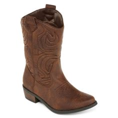 15ae0c8fb891 Arizona Vivienne Girls Mid-Top Cowboy Boots - Little Kids Big Kids found at