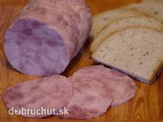 Domáca šunka Czech Recipes, Russian Recipes, Party Mix, How To Make Cheese, The Cure, Food And Drink, Bread, Czech Food, Recipes