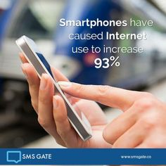 Smartphones have caused Internet use to increase 93%  #Didyouknow