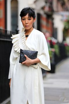 See what the show-goers wore to the penultimate day of LFW