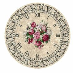 VK is the largest European social network with more than 100 million active users. Decoupage Vintage, Decoupage Paper, Vintage Paper, Clock Craft, Diy Clock, Clock Face Printable, Clock Flower, Clock Parts, Eames