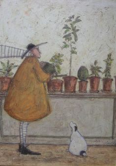 Looking After His Lovelies by Sam Toft