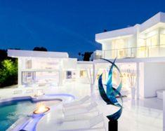 Modern Architecture House, Residential Architecture, Architecture Design, Rustic Exterior, Interior And Exterior, Luxury Home Decor, Luxury Homes, Decoration, Art Decor
