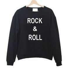 rock n roll Unisex Sweatshirts