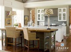 Transitional Residential Design #Transitional #Kitchen #Lowcountry #White