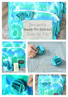 Fashionable Back To School Craft for Kids Collage l Fresh Idea Studio
