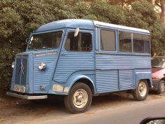 Citroen_H_Van_Citroen_Cinghialino. Citroen Type H, Citroen H Van, French Classic, Vintage Vans, Pedal Cars, Camping Car, Cool Trucks, Camper Van, Tubs