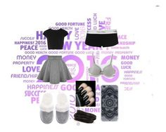 """""""Untitled #117"""" by tallia01 ❤ liked on Polyvore featuring Alice + Olivia, Victoria's Secret, Calvin Klein and Pieces"""
