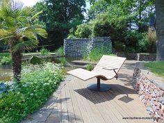 Sonnenliege SunDivan Backyard Gazebo, Patio, Moderne Pools, Garden Chairs, Outdoor Furniture, Outdoor Decor, Sun Lounger, Shops, Diy