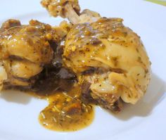 Cosce di pollo marinate piccanti   La studentessa pasticciona