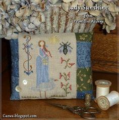 Stitches by Carin: Lady Sunshine