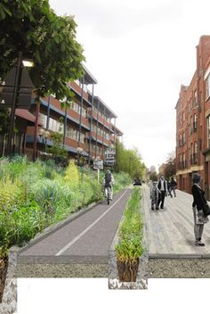 Vauxhall | Cycling and pedestrians prioritised over cars