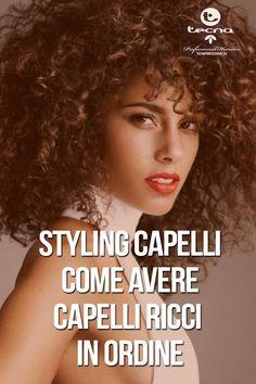 Come avere dei ricci perfetti? Istruzioni all'uso! #curlyhair #curls #tecnaitalia #tecnaprofessional #hairstyling #hairfinish