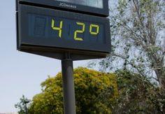 Alerta naranja por máximas de 42ºC en el Guadalentín y Vega del Segura y…