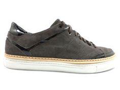 #AlessandroDell'Acqua #sneakers #uomo #camoscio #marroni #zooode
