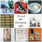 10 Cool DIY Christmas Gifts