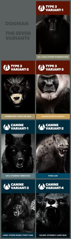 Seven Types of Dogman