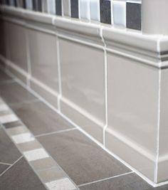 tile baseboard tile bathroom