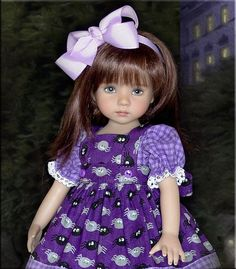 """""""Itsy Bitsy Spider """" by Tauni for 13"""" Effner Little Darling, Betsy McCall"""
