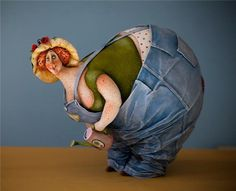 Авторские куклы из папье-маше Екатерины Гусевой   Люди   Истории   ArtInHeart.ru