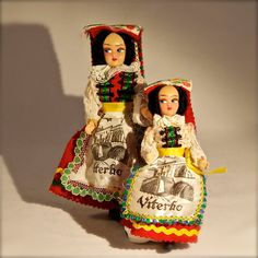 Vintage Collectible Souvenir Doll Viterbo Italy by delphiniumsblue, $10.00