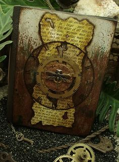 Altered Alchemy Gallery: Handmade Journals  The photos are as great as the books...