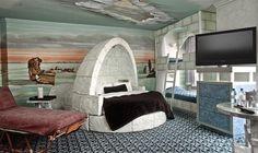 Habitaciones temáticas en el hotel Fantasyland de Canadá