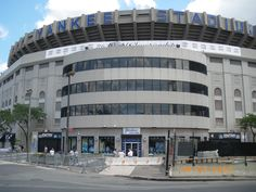 Old Yankee Stadium - the house that Ruth built!
