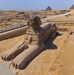 Ancient Egypt (Kemet) - Great Sphinx (Hor-Em-Akhet)