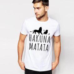 Hukuna Matata shirt for men and women.