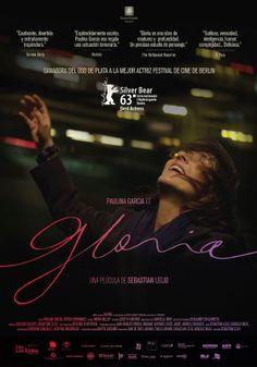 GLORIA (Dir. Sebastian Lelio, 2013) Chilean poster
