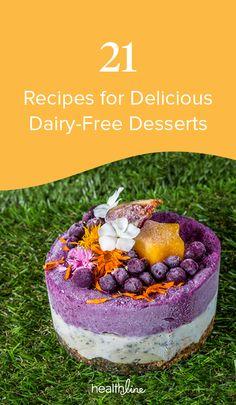 21 Dairy-Free Desserts