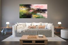 Items similar to Large Modern Wall Art Painting,Large Abstract Painting on Canvas,texture painting,gold canvas painting,gallery wall art on Etsy Oversized Wall Decor, Oversized Canvas Art, Large Abstract Wall Art, Large Canvas Art, Gold Canvas, Large Art, Office Wall Art, Home Decor Wall Art, Hallway Art