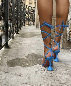 High Heel Pumps, 6 Inch Heels, Build A Wardrobe, Big Sean, Pretty Shoes, Shoe Game, Girly Things, Baby Blue, Fashion Shoes