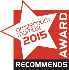 New logo for The Amsterdam Mamas Recommends Award