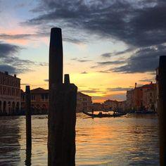 #magic #venice #afterwork #whereIlive #gondola #reflaction #sunset #sunsetlovers #clouds #venezia #venise #colors #placetobe #ig_venezia #instavenice #gondola #igersvenezia #veneziaautentica #laguna #veneziaunica by claudiagio