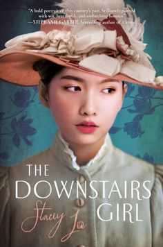 A Chinese-American girl in 1890 Atlanta who works as a lady's maid and newspaper columnist researches her past.  YA LEE Stacey #book #fiction #ya #historical