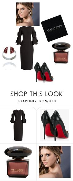 """""""blingsense  jewelry 1"""" by seldy-enes ❤ liked on Polyvore featuring Roksanda and Christian Louboutin"""