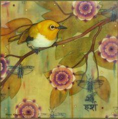 Mary Alayne Thomas - Purple Sakura ( Orental White Eye)