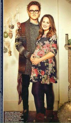 Tom, Gi and the baby Fletcher ♥