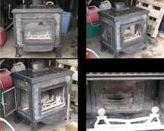 Metters Warren No 1 Wood Stove | Old stoves | Stove, Old ...