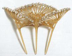 Art Nouveau Jewelry - hair ornament