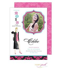 Graduation Photo Cards and Invitations from RockPaperScissors